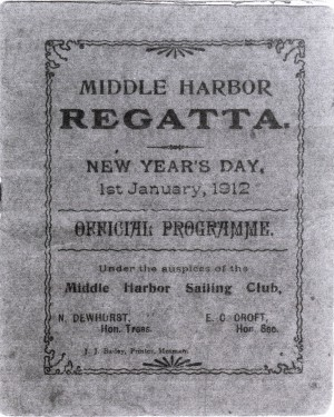 Middle Harbour Regatta 1912